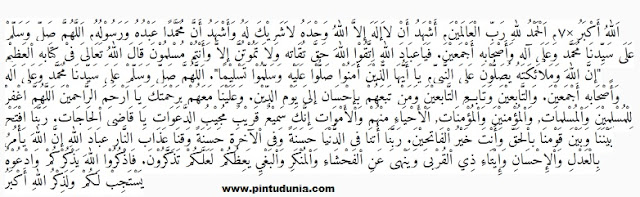 khutbah idul fitri fresh