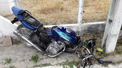 Homem morre em Mata Grande, após colidir moto  em árvore