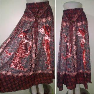 Model Rok Panjang Batik Terbaru