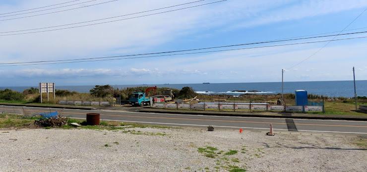 海岸からの光景
