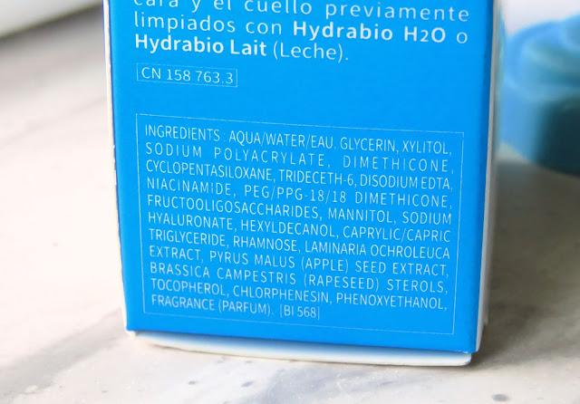Bioderma Hydrabio Serum zlozenie