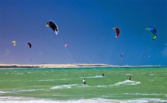 kitesurf Praia Cumbuco - Caucaia - Ceará