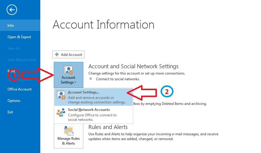 gửi và nhận email trên Microsoft Outlook