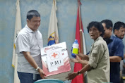 Tanggap Covid-19, FKDM Kota Adm Jakarta-Barat, Berikan Bantuan Alat Semprot Disenfectan