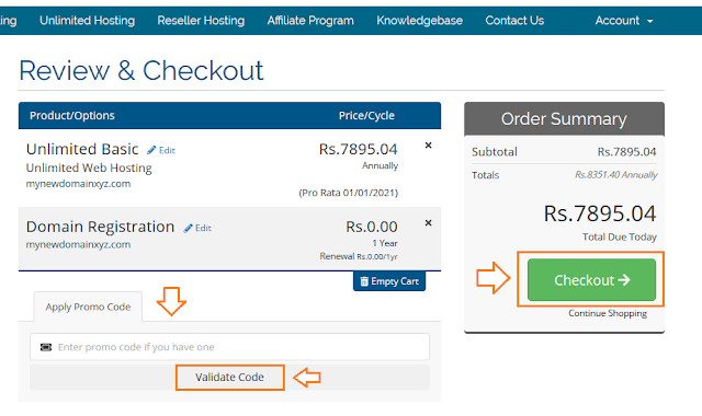 How To Buy Domain And Hosting In Pakistan - Step By Step 7