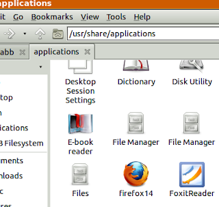 firefox14 shortcut desktop file icon on application folder in lubuntu lxde