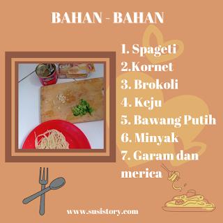 Anak susah makan nasi, coba resep creamy spagheti