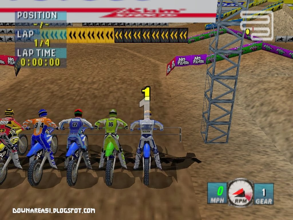 Game Nintendo 64 Jeremy Mcgrath Supercross