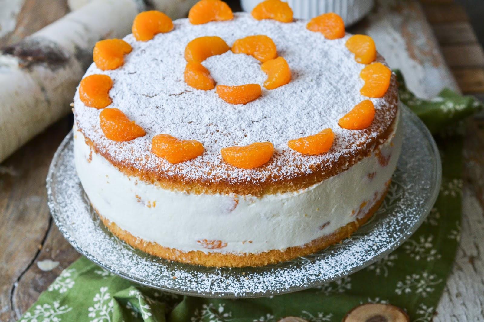 Christina Macht Was Quark Sahne Torte Mit Mandarinen