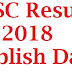 SSC Result 2018 Publish Date