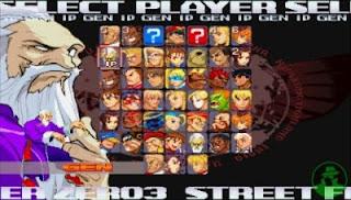 Cheat Street Fighter Alpha 3 PSP PPSSPP
