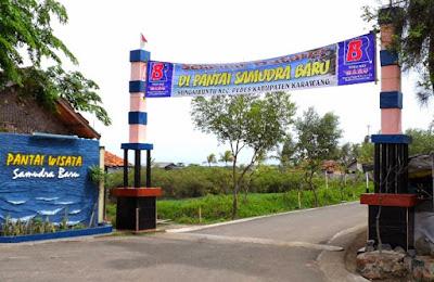 Destinasi Wisata Pantai Samudera Baru di Karawang