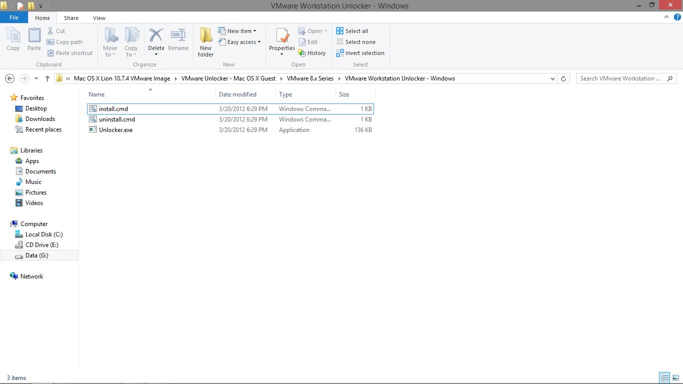 Mac OS X 10 8 Mountain Lion on Vmware Workstation 9