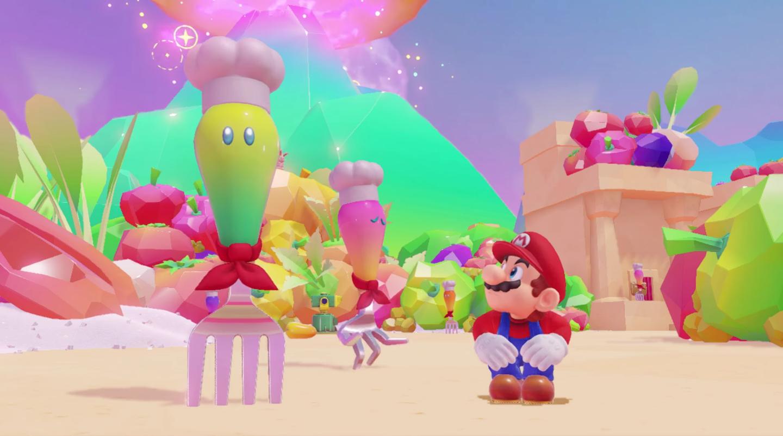 Super Mario Odyssey não terá tela de game over