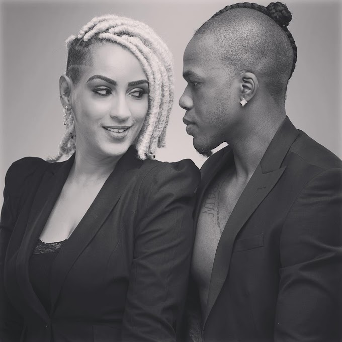 "Juliet Ibrahim says this is ""The look you give each other when you know you've made the right choice"""