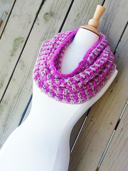 Cassandra Cowl Infinity Scarf Free Crochet Pattern Crochet Dreamz