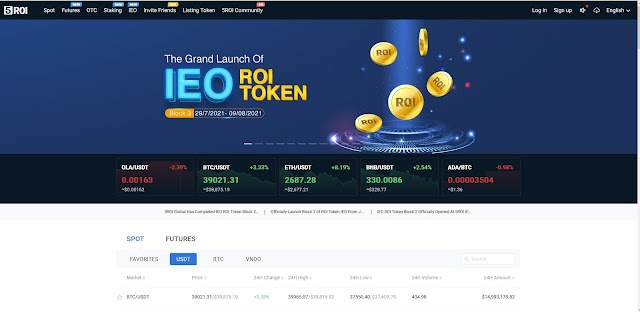 Online Earning Money - 5 ROI Global - cryptocurrency exchange - Earning in Dollars - 5 ROI Global Registration - Bitcoin Earning