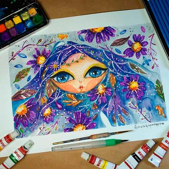 Ilustración de Giornella G. Grandeppieno