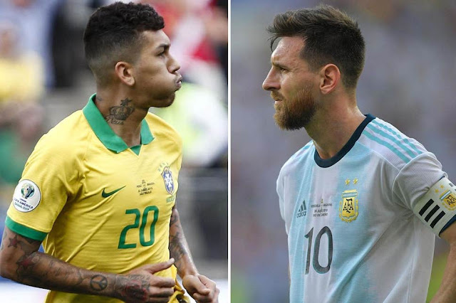 مشاهدة مباراة البرازيل والارجنتين بث مباشر اليوم 3-7-2019 نصف نهائي كوبا امريكا