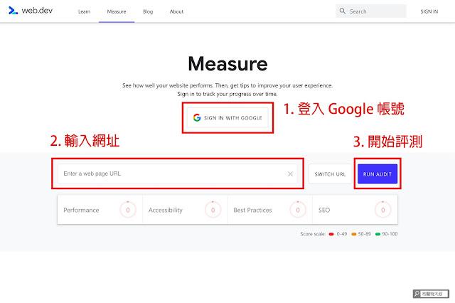 【網站經營】利用 web.dev 測量工具幫網站健檢,找出 SEO 及使用者體驗問題 - Measure 是免費的測量工具,任何人都可以輕易使用