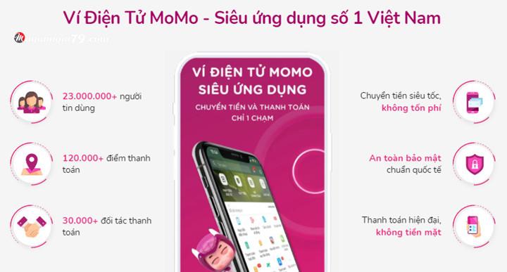 Ứng dụng kiếm tiền Momo
