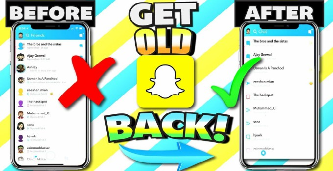 How to downgrade Snapchat to version 10 22 2 or below (old