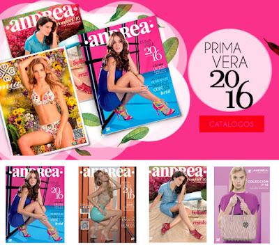 Nuevos Catalogos Digitales Andrea 2016 Primavera