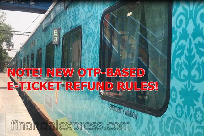 IRCTC Refund Rules 2019: New OTP-based refund system against cancelled or fully waitlisted ticket introduced