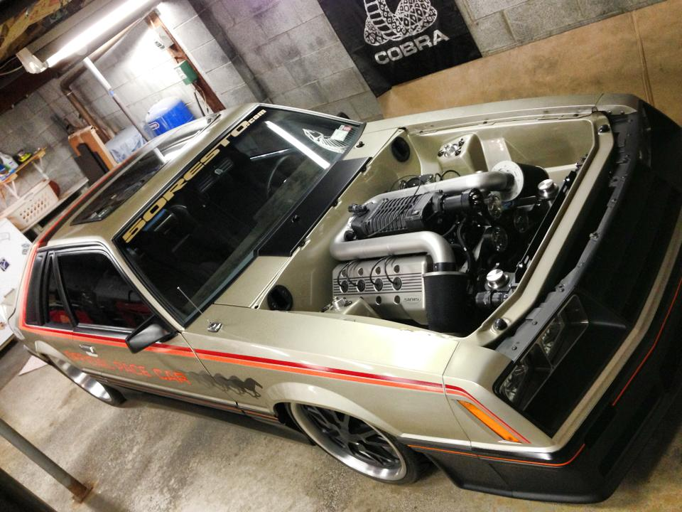 SINIS Built 1979 Ford Mustang Pace Car