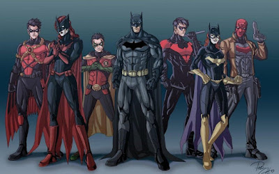 DC Comics Batman family