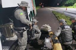 Polícia apreende drogas no município de Cristinápolis