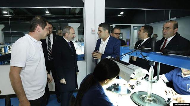 Nueva planta de procesamiento de diamantes en Armenia