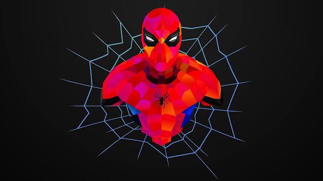 Neon-Spider-Man-Wallpaper