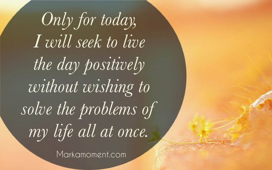 Tips for Living a Better Life -- From Pope John XXIII, Daily Thoughts, Motivational Quotes 2014, Live Positive