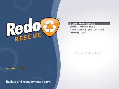 Disponible Redo Rescue 2.0.6 con soporte exFAT y F2FS