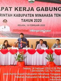 Gelar Rapat Kerja Gabungan, Pemkab Mitra Siap Sukseskan Program Nasional