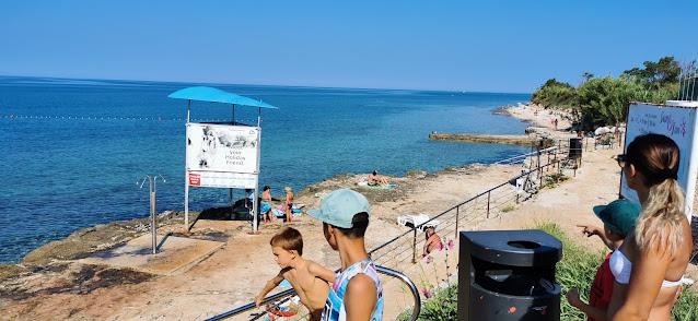 V kempu s karavanem - Istria