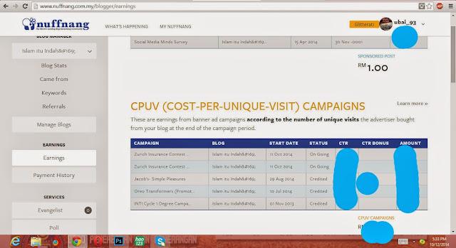CPUV Nuffnang : Zurich Insuraance Contest !