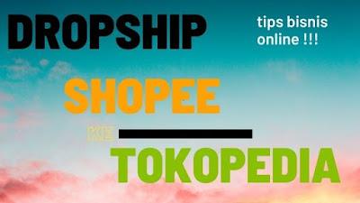 cara menjadi dropshipper