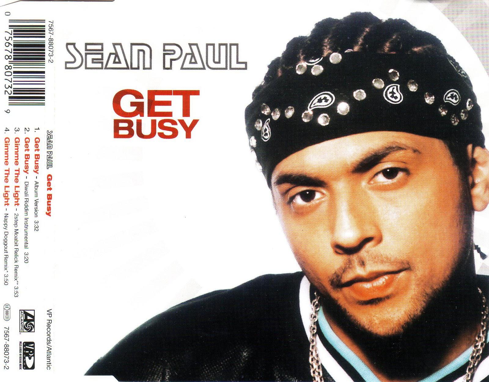 drony_dj Electro Bass: Sean Paul - Get Busy (CD, Maxi-Single