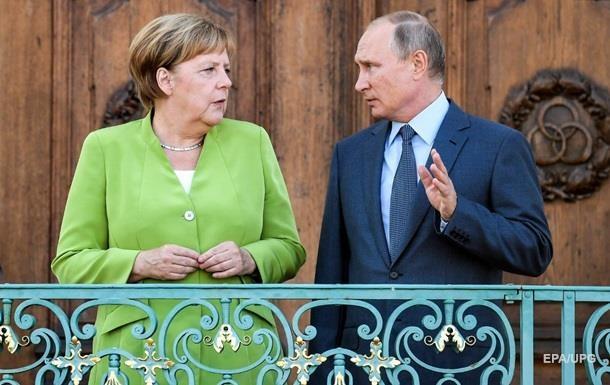 Розмова Меркель і Путіна: з'явилися подробиці