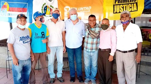 ALFREDO RAMOS: ATENCIÓN DIRIGENTES POLÍTICOS Y LÍDERES DE LA OPOSICIÓN EN CARORA LA CALLE TIENE QUE MANTENERSE VIVA