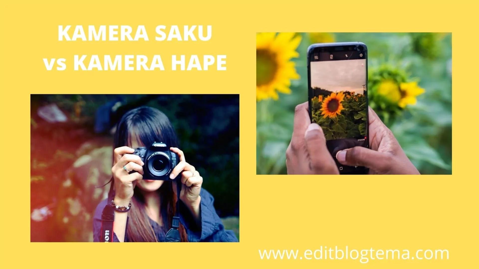 kamera hape versus kamera saku