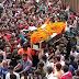 """शहीदों की शव यात्रा में उमड़ा जनसैलाब, """"भारत माता की जय"""" के नारे से गूंज उठे गांव के गांव"""