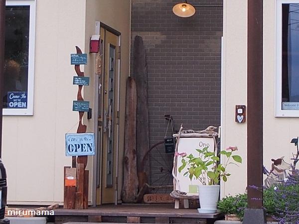 お店の玄関口