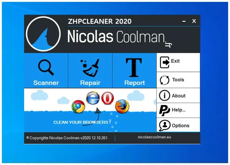 ZHPCleaner 2020: Βρείτε και διαγράψτε πειρατικά λογισμικά περιήγησης και ανακατεύθυνσης  (hijackers)