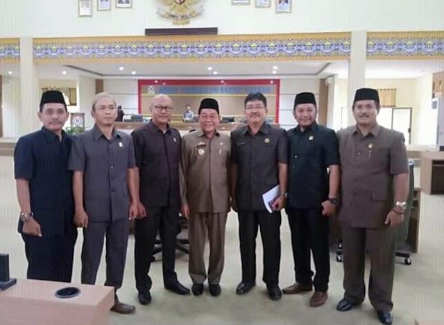 DPRD Kab.Mesuji Menggelar Rapat Paripurna Penyampaian LKPJ Bupati Mesuji TA. 2018