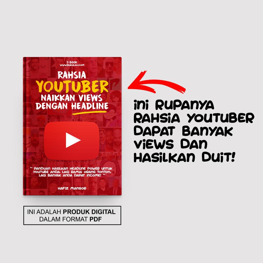 Rahsia youtubers naikkan views dengan headline