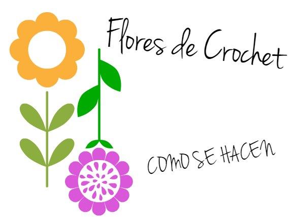 Flor de Crochet 2 Colores