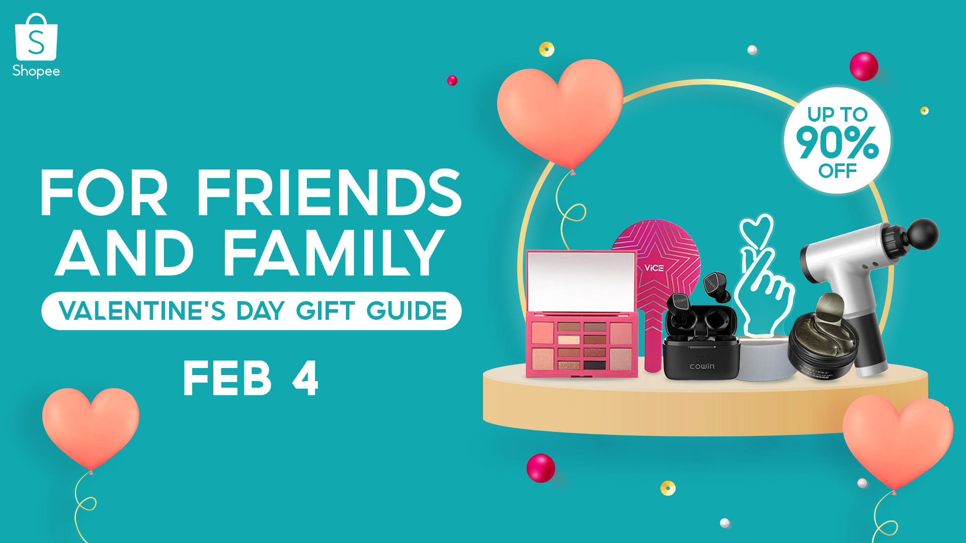 Shopee Valentine's Day Gift Guide 2021